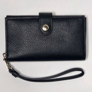 Coach Pbl Leather Phone Clutch Wallet Wristlet